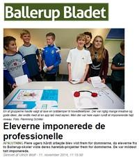 Ballerup Bladet om Laboratoriet