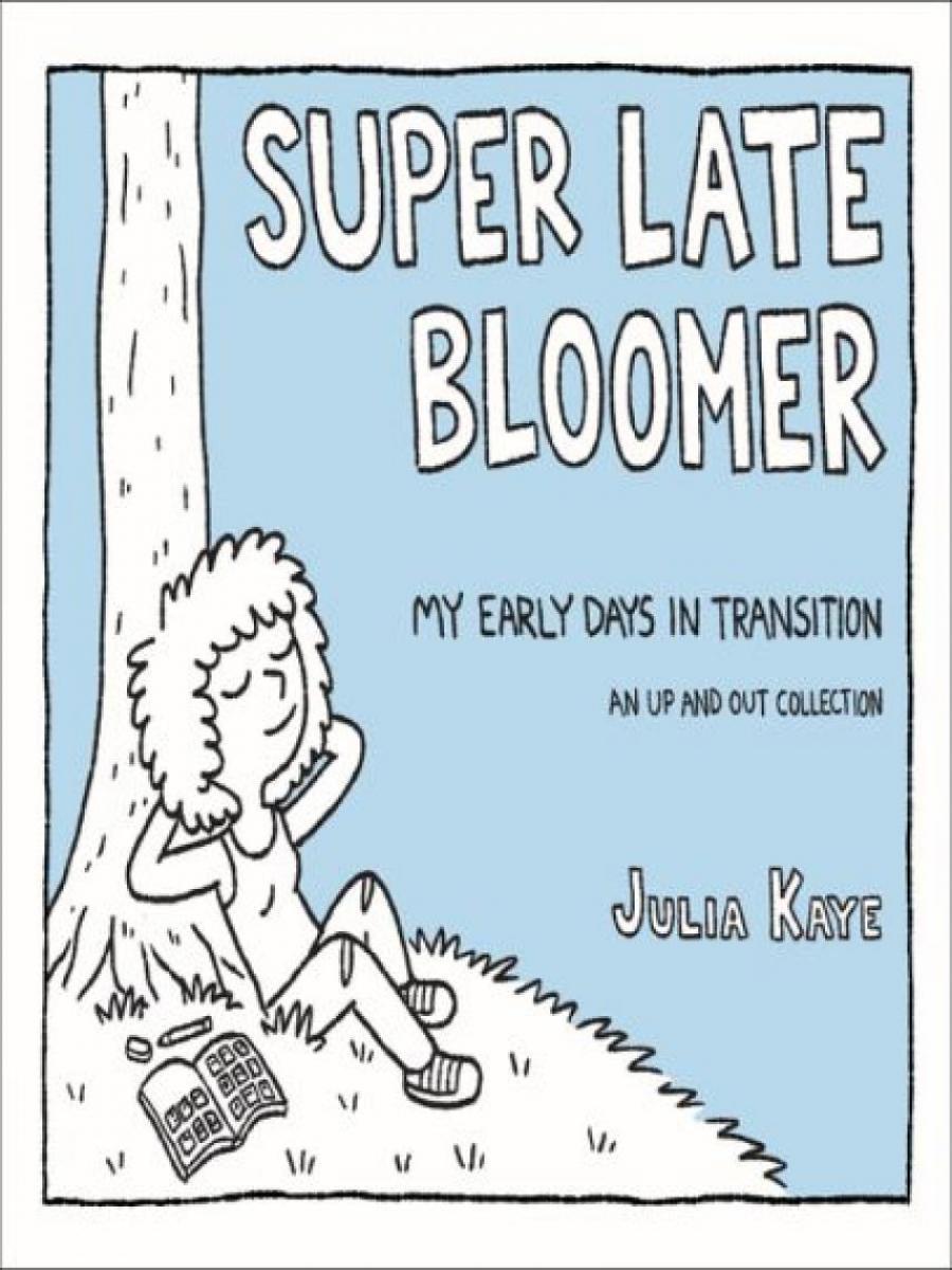 """Bogforside af """"Super late bloomer"""""""