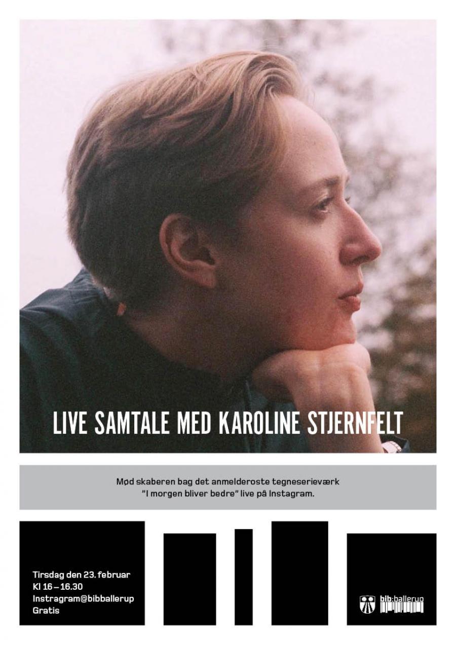 Live samtale med Karoline Stjernfelt