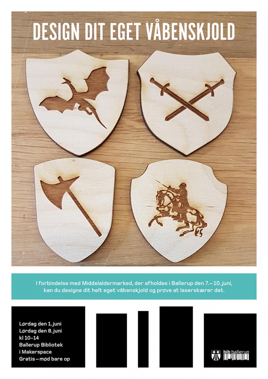 94edc58b Design dit eget våbenskjold | Page 2 | Ballerup Bibliotekerne