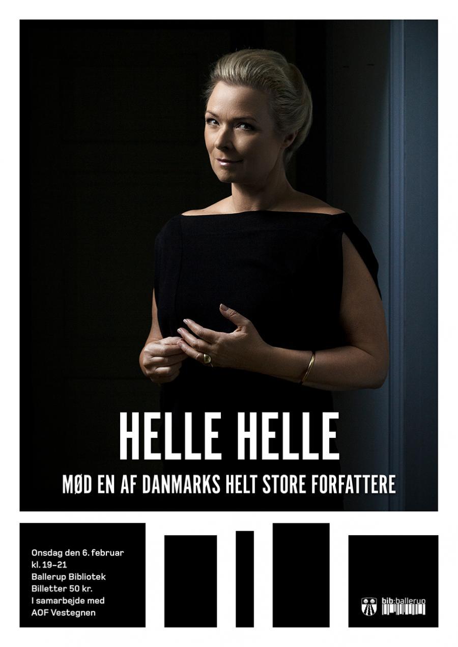 Foredrag med Helle Helle