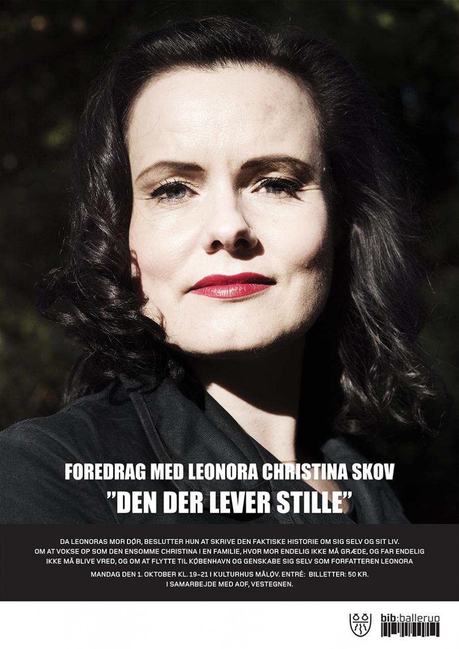 Forfatteren Leonora Christina Skov