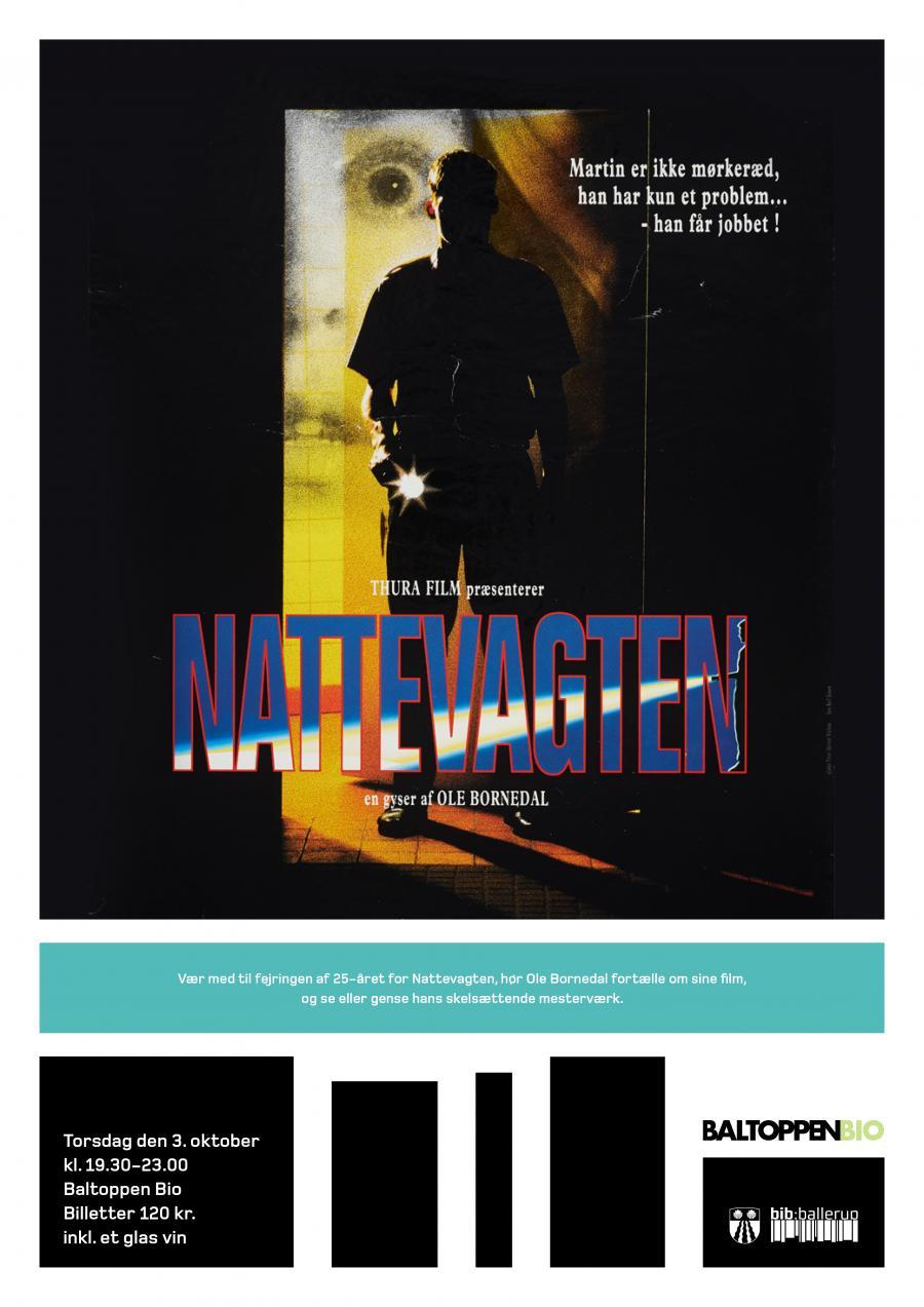 Plakat for Nattevagten