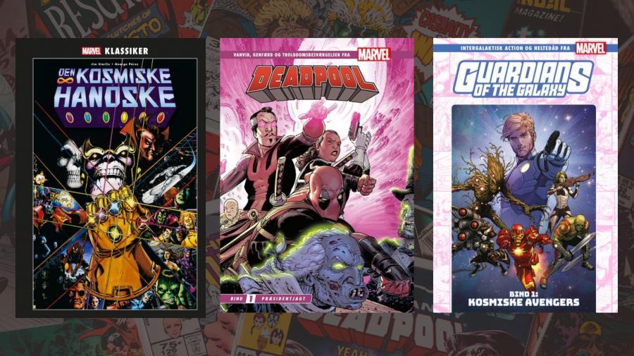 Nye Marvel tegneserier