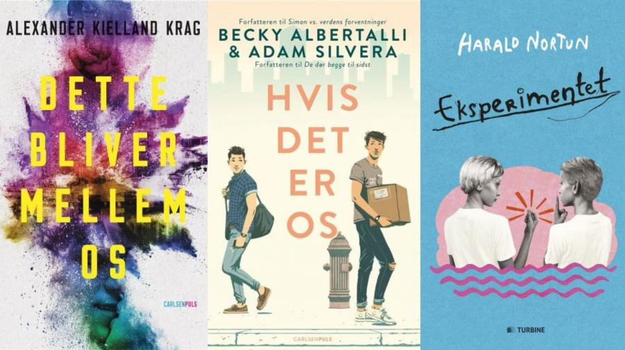 LGBTQ+ litteratur for unge