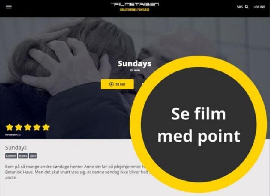 Filmstriben - film med point