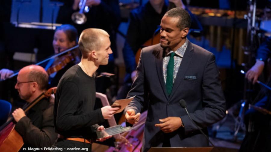 Jonas Eika modtager nordisk råds litteraturpris