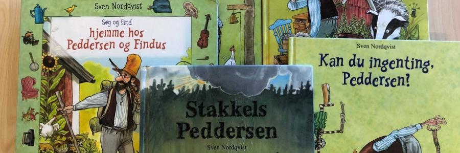 Billede af Peddersen og Findus-bøger