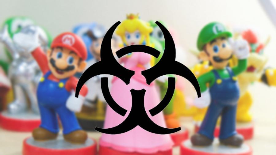 Billede af biohazard symbolet