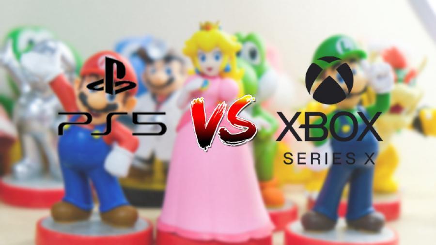 Billede af konsol-logoer