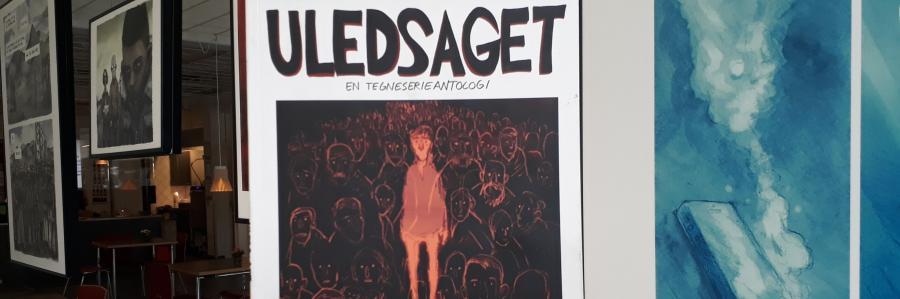 Tegneserien bag udstillingen