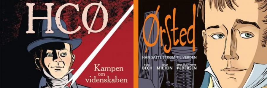 Tegneserier om H. C. Ørsted